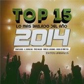 Top 15 Lo Más Bailado del Año 2014, Éxitos Urbanos de Various Artists