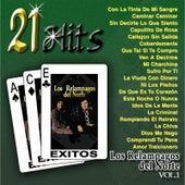 Play & Download 21 Hits, Vol. 1 by Los Relampagos Del Norte | Napster