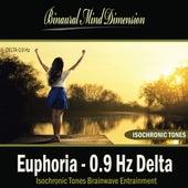 Play & Download Euphoria - 0.9 Hz Delta: Isochronic Tones Brainwave Entrainment by Binaural Mind Dimension | Napster