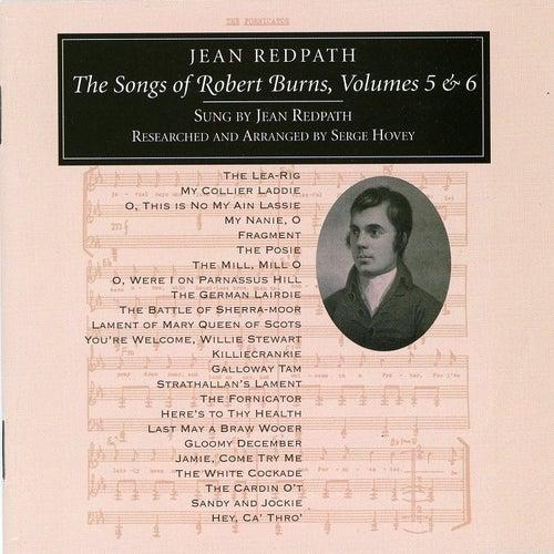 Songs of Robert Burns Vol 5 & 6 by Jean Redpath