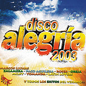 Disco Alegría 2003 von Various Artists