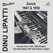 Play & Download Dinu Lipatti in Zurich by Various Artists | Napster