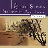 Beethoven Piano Sonatas, Vol. 3 by Russell Sherman
