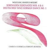 Wolfgang Amadeus Mozart - Serenades No. 4, No. 6 - German Dance No. 1 by Various Artists