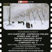 Tchaikovsky: 1812 Overture, Capriccio Italien, Romeo & Juliet, The Nutcracker Suite, Piano Concerto No. 1 & Symphony No. 5 by Various Artists