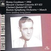 Play & Download Mozart: Clarinet Concerto K. 622 & Clarinet Quintet K. 581 by Benny Goodman | Napster