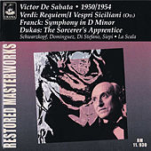 Play & Download Verdi: Requiem & I Vespri Siciliani - Franck: Symphony in D Minor - Dukas: The Sorcerer's Apprentice by Various Artists | Napster
