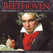 Play & Download Beethoven: Piano Concerti Nos. 4 & 5 by Royal Philharmonic Orchestra | Napster