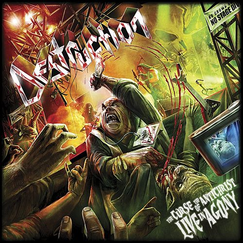 The Curse of the Antichrist - Live in Agony by Destruction
