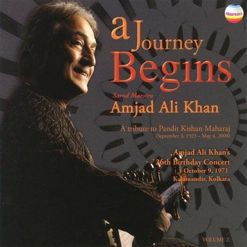 A Journey Begins, Vol. 2 (Live) by Ustad Amjad Ali Khan