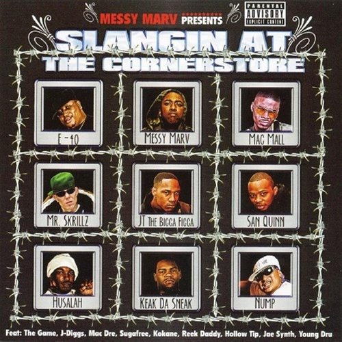 Play & Download Messy Marv Presents: Slangin At The Cornerstore by Various Artists | Napster