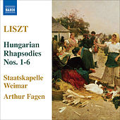 Play & Download Liszt: Hungarian Rhapsodies Nos. 1-6 by Weimar Staatskapelle | Napster