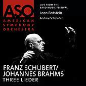 Schubert: Three Lieder by Andrew Schroeder
