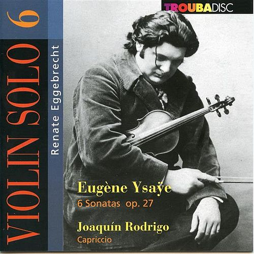 Violin Solo, Vol. 6 by Renate Eggebrecht