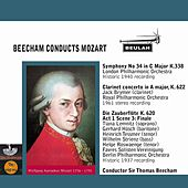 Beecham Conducts Mozart by Sir Thomas Beecham