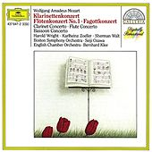 Mozart: Clarinet Concerto; Flute Concerto; Bassoon Concerto in B by Various Artists