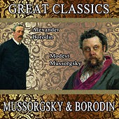 Play & Download M. Mussorgsky: Pictures at an Exhibition - A. Borodin: In the Steppes of Central Asia / Prince Igor: Polovtsian Dances: Great Classics. Mussorgsky & Borodin by Orquesta Filarmónica Peralada | Napster