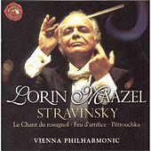 Igor Stravinsky: Pétrouchka, Le Chant du rossignol, Feu d'artifice, by Wiener Philharmoniker
