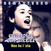 Non ho l´eta by Gigliola Cinquetti