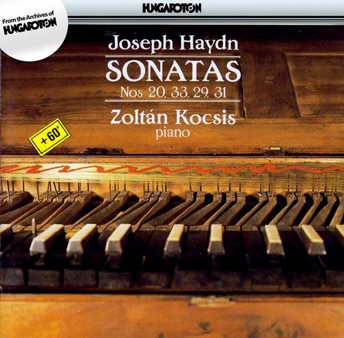 J. Haydn: Sonatas Nos. 20, 33, 29, 31 by Zoltan Kocsis