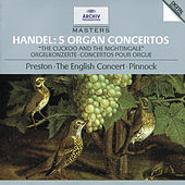 Handel: 5 Organ Concertos by Simon Preston