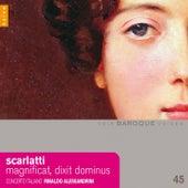 Scarlatti: Magnificat, dixit dominus, madrigali von Rinaldo Alessandrini