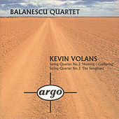 Volans: String Quartets Nos.2 & 3 by Balanescu Quartet