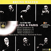 Walter À Paris - 1955 by Bruno Walter