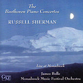 The Beethoven Piano Concertos: Live at Monadnock by Russell Sherman