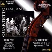 Quartetto Italiano Plays Schubert, Debussy & Milhaud by Quartetto Italiano