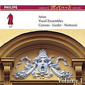Play & Download Mozart: Arias, Vocal Ensembles & Canons - Vol.1 by Various Artists | Napster