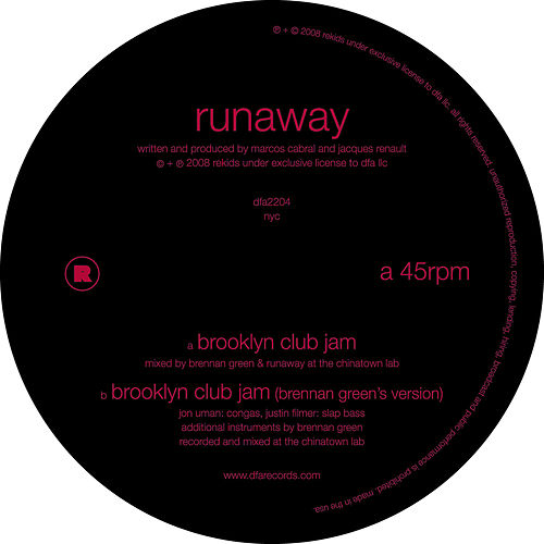 Play & Download Brooklyn Club Jam by Runaway | Napster