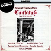 Play & Download Bach: Cantatas Nos. 57, 58, 59 and 152 by Maria Zadori | Napster