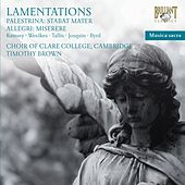 Lamentations by Choir of Clare College, Cambridge