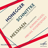 Play & Download Honegger, Schnittke & Messiaen by Mikhail Voskresensky | Napster