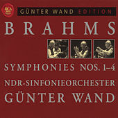 Brahms: Symphonies 1 - 4 by Günter Wand