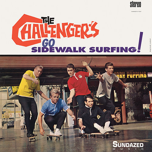The Challengers Go Sidewalk Surfing! by The Challengers