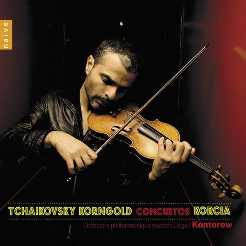 Play & Download Korngold & Tchaïkovski: Concertos by Laurent Korcia | Napster