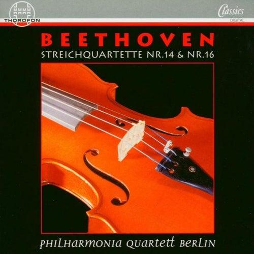 Ludwig van Beethoven: Streichquartette Nr. 14 & Nr. 16 by Philharmonia Quartett Berlin