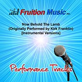 Play & Download Now Behold the Lamb (Originally Performed by Kirk Franklin) [Instrumental Performance Tracks] by Fruition Music Inc. | Napster