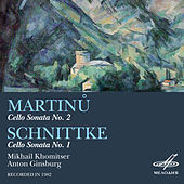Martinů & Schnittke: Cello Sonatas by Anton Ginsburg