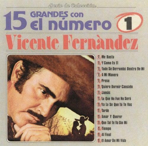 Play & Download 15 Grandes Con El Numero 1 by Vicente Fernández | Napster