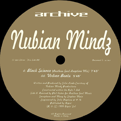 Play & Download Black Science by Nubian Mindz | Napster