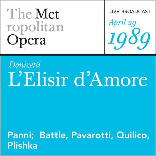 Donizetti: L'Elisir d'Amore (April 29, 1989) by Metropolitan Opera