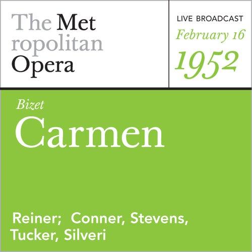 Bizet: Carmen (February 16, 1952) by Georges Bizet