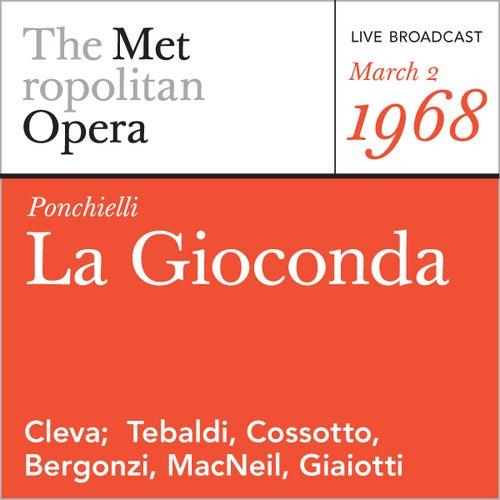 Play & Download Ponchielli: La Gioconda (March 2, 1968) by Amilcare Ponchielli | Napster