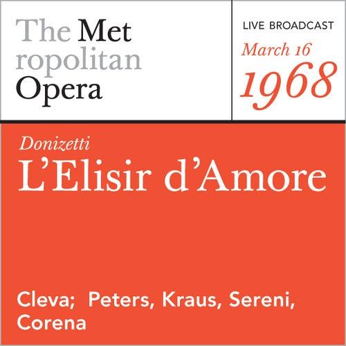 Donizetti: L'Elisir d'Amore (March 16, 1968) by Gaetano Donizetti