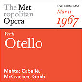 Play & Download Verdi: Otello (March 8, 1958) by Verdi | Napster