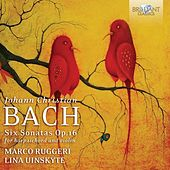 J.C. Bach: Sonatas for Harpsichord and Violin by Marco Ruggeri