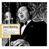Play & Download Jussi Björling Recital (Live 1959) by Jussi Björling | Napster